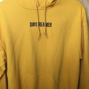 Daydreamer yellow hoodie